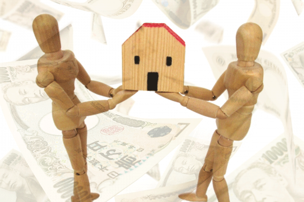 共有不動産の賃貸借での家賃の分け方